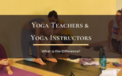 What is the difference between Yoga Teacher and Yoga Instructor?